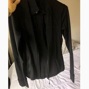 lululemon black DEFINE zip up jacket